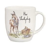 Кружка Churchill Country Her Ladyship Bone China Mug 300 мл COPU00181