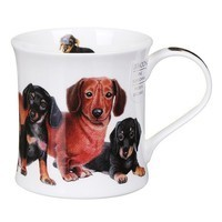 Кружка Dunoon Wessex Designer Dogs Dachshund 300 мл 101001190