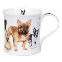 Кружка Dunoon Wessex Designer Dogs French Bulldogs 300 мл 101001188